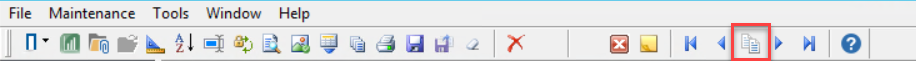 Hardware Estimate top toolbar showing the location of the Copy From icon.