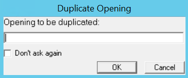 Duplicate Opening window.